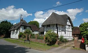 Thatched cottages in Church Street