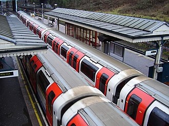 North Acton tube station - Image: North Acton tube station