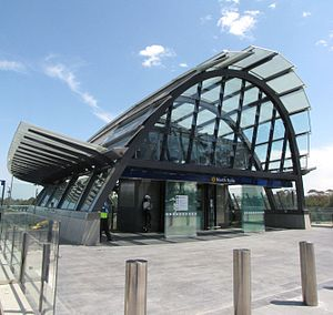 Hassell (architecture firm) - Image: North Ryde station entrance