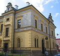 Nová Paka (okr. Jičín), Stanislava Suchardy čp. 68, Suchardův dům, od východu.JPG