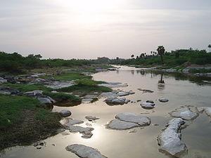 Noyyal River - Noyyal, Ungampalayam, Karur Dist.