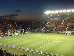 2015 Recopa Sudamericana - Estadio Pedro Bidegain in Buenos Aires, Argentina, hosted the second leg.