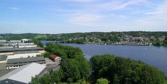 Numedalslågen - Image: Numedalslaagen Larvik