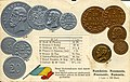 Numismatic postcard from the early 1900's - Kingdom of Romania.jpg