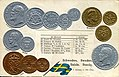 Numismatic postcard from the early 1900's - Kingdom of Sweden 02.jpg