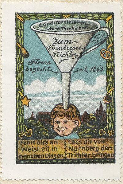 File:Nuremberg Funnel - ad stamp 1910.jpg
