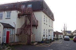 English: Nursing home in Crick