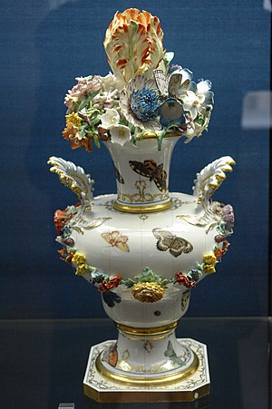 Nymphenburg Porcelain Manufactory - Nymphenburg porcelain tableware, c. 1760–1765