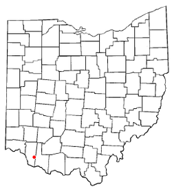 Location of Bethel, Ohio