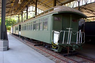 Disneyland Railroad - Image: Oahu Railway and Land Company equipment at Travel Town