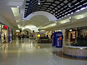 Oakland Mall - The older one level mall.