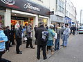 Occupy Isle of Wight protesting in Newport High Street 6.JPG
