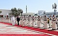 Official welcome ceremony was held for Ilham Aliyev in Qatar, 2017 05.jpg
