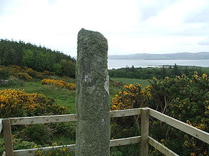 Gigha - The Ogham stone