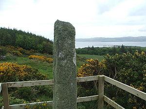 Gigha - The Ogham stone