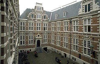 Dutch East India Company - VOC headquarters in Amsterdam