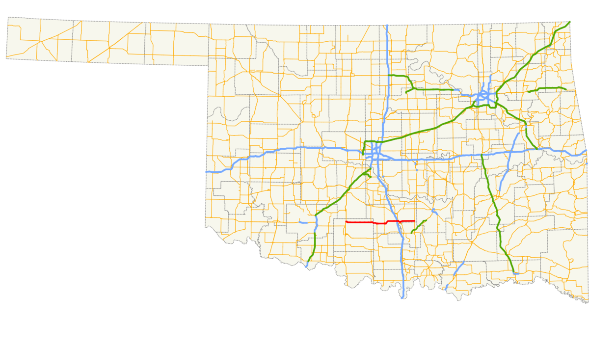 Oklahoma State Highway 29 Wikipedia