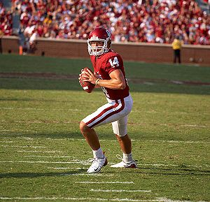 2009 Oklahoma Sooners football team - Heisman Trophy winning quarterback Sam Bradford returned for his junior year. He was one of four team captains for the 2009 squad.