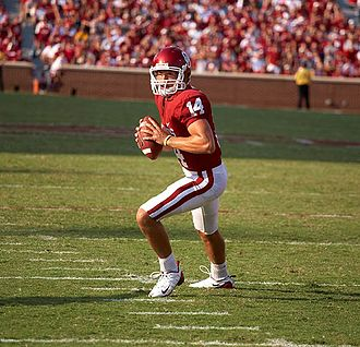 2008 Oklahoma Sooners football team - Quarterback Sam Bradford returned for his sophomore year.