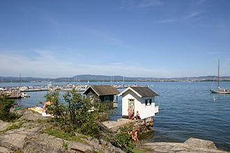 Nesodden - Image: Oksval