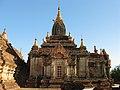 Old Bagan, Myanmar, Dhammayazika Pagoda, 12th century Buddhist temple.jpg