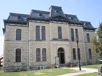 Blanco, Texas - Image: Old Blanco County Courthouse, Blanco, TX IMG 1911