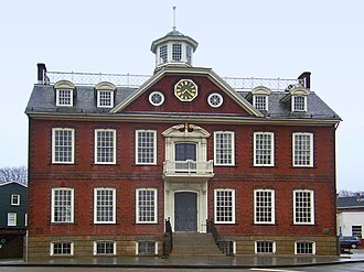 Newport County, Rhode Island - Image: Old Rhode Island State House edit 1
