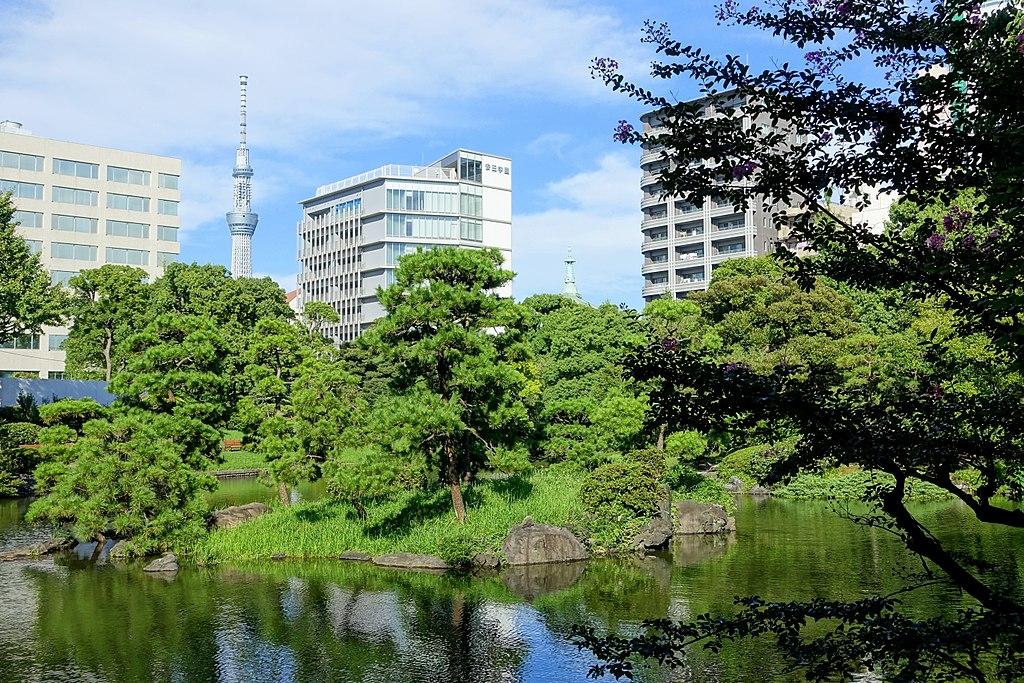 Old Yasuda Garden - Tokyo, Japan - DSC06433