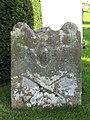 Old grave stone, Halton Church - geograph.org.uk - 1034906.jpg