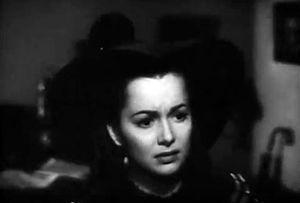 Devotion (1946 film) - De Havilland in Devotion trailer