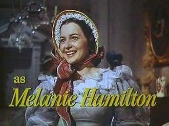 Melanie Hamilton - Melanie Hamilton as portrayed in the film by Olivia de Havilland