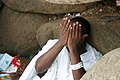 One man prays on Mt Arafat - Flickr - Al Jazeera English.jpg