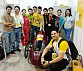 "One of seven Malaysian student teams - Team Eco-Chaser from Monash University. Their CNG-powered vehicle ""Eco-ficient"" competes in the Prototype category -shellecomarathon -makethefuture (33484210795).jpg"