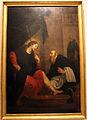 Orazio de ferrari, s. agostino lava i poiedi a cristo in sembiante di pellegrino, 1625-50 ca. 01.JPG