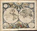 Orbis terrarum nova et accuratissima tabula = Nieuwe werelt kaert uÿt gegeven (7537866554).jpg