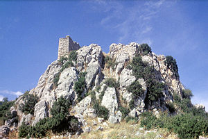 Orchomenus (Boeotia) - View of the Acropolis.