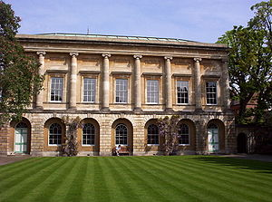 James Wyatt - The Senior Common Rooms and Senior Library of Oriel College, Oxford. Designed by James Wyatt in the 1780s.