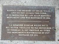 Oscar Wilde - Pere Lachaise - 01.jpg