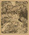Otto Mueller Waldsee mit drei badenden und einem sitzenden Mädchen 1918.jpg