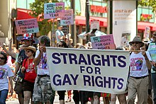 lgbt social movements  37th annual straights for gay rights in berkeley california