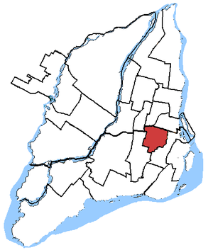 Outremont (electoral district) - Image: Outremont, riding