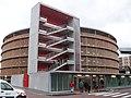 P+R station Rotonde (Strasbourg - CTS), parking silo.jpg