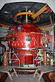 Přečerpávací vodní elektrárna Dlouhé Stráně. Francisova reverzní turbína.jpg