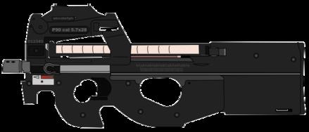 Miniature armes à feu modèle Heckler /& Koch h/&k MP5 Double Magazine machine gun