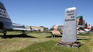 Pacific Coast Air Museum - Image: PCAM1