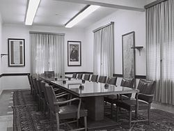 PM Office at HaKirya 1964.jpg