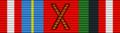 POL Medal pamiątkowy X-lecia Komandorii Śląsko-Zagłębiowskiej Orderu Świętego Stanisława BAR.png