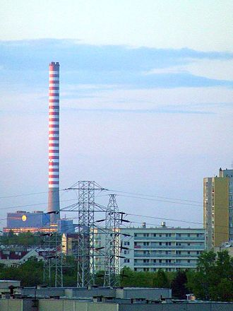 Kawęczyn Heat Plant - Image: POL Warsaw EC Kawęczyn