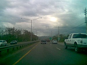 Puerto Rico Highway 2 - PR-2 in Mayagüez