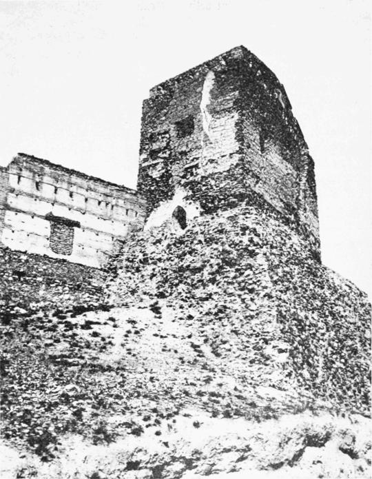 PSM V68 D563 Two thousand year old tower and walls.png